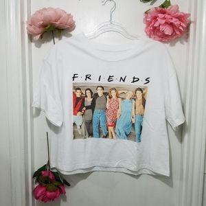 🎉🌟HOST PICK🌟🎉F.R.I.E.N.D.S Crop Top T-Shirt